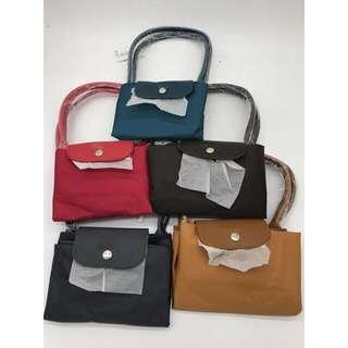 Longchamp Fold Tote Bag