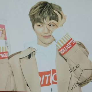 Wanna one 姜丹尼爾 LAP雙面poster (90x60cm)