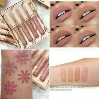 Kylie nude lipsticks set