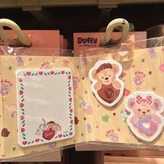 [HKDL]  香港迪士尼樂園 Duffy and Friends 便利貼