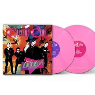 [Only 500 pressed] Culture Club – Live at Wembley World Tour 2016 (Limited Edition Pink Colored 2 LP)