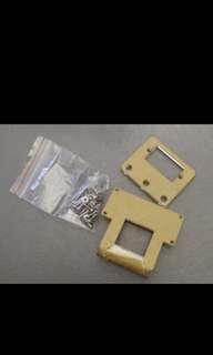 Smart Car Mounting Bracket For Ultrasonic Ranging Module Analog Servo