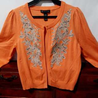 REPRICED Embroidered Cardigan