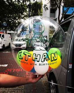 Customize Character Bubble Balloon
