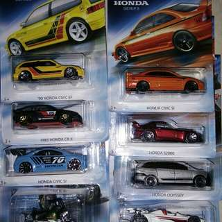 Hot wheels Honda 2018 ef civic s2000 hotwheels