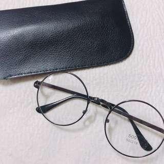 復古圓鏡框眼鏡