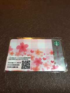 Starbucks Card Taiwan Spring Edition