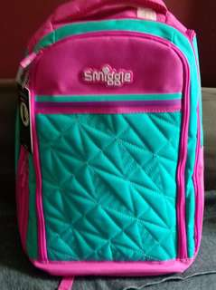 Brand new Smiggle Backpack $79.90 - now at $30