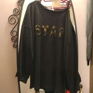"寬鬆衛衣Loose ""STAR"" Top"
