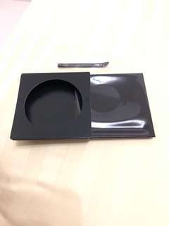 Shiseido cream base with spatula
