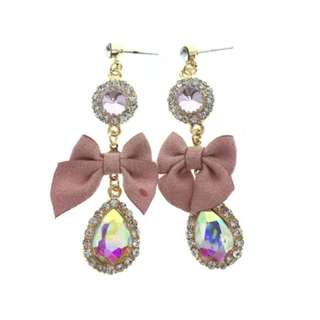 Anabelle ribbon earrings