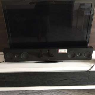 LG Blue Ray DVD Sound System w Wireless active woofer