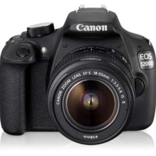 Canon 1200d dslr with kit lens lowest price u can get