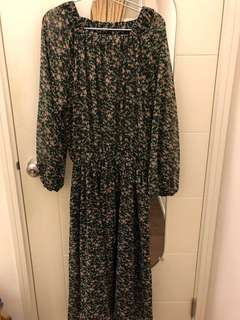 As know as de base long dress 100% new