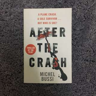 After the Crash - Micheal Bussi (Thriller, Mystery, Suspense, Literary Fiction book)