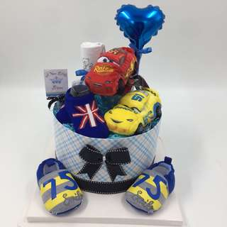 Baby Diapers Cake