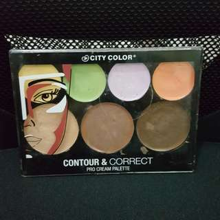 City color contour & correct