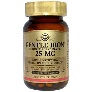 Solgar Gentle Iron 25mg