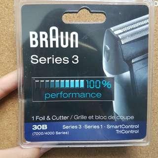 Braun series 3 foil and cutter
