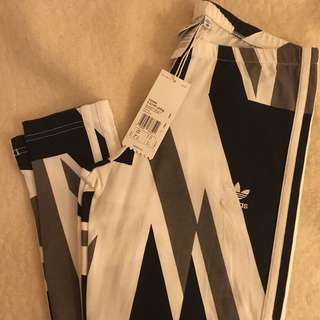 Adidas Originals - 英國🇬🇧國旗運動褲/ 緊身褲 Striped Olympic Leg Flag🇬🇧 Tights/ Leggings