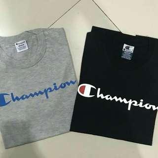 Champion tee & ripndip