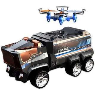全新Silverlit Drone Mission 2-in-1 RC Truck & Drone
