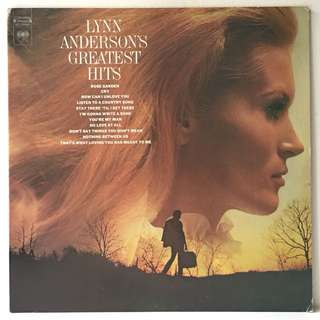 "Lynn Anderson ‎– Lynn Anderson's Greatest Hits (1972 USA Original + Free Bonus 7"" - Vinyl is Excellent)"