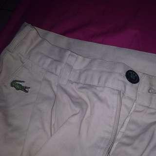 lacoste short pants / celana pendek