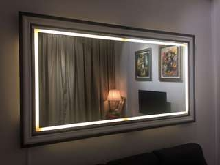 Led mirror 2 by 1.5 (pre order)