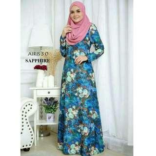 Airis 3.0 Muslimah Jubah Dress
