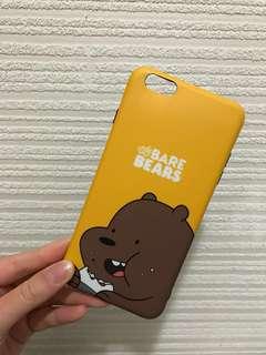We BARE BEARS手機殼6S plus