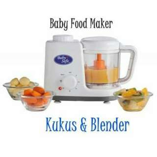 Baby Safe Food Maker Steam and Blend