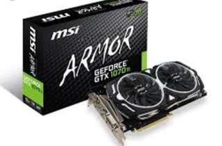 MSI GeForce 1070Ti Armor 8G