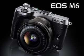 Canon M6 kit