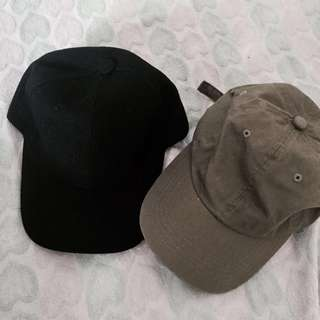 Basic baseball caps