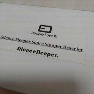 Brand New Snore stopper bracelet