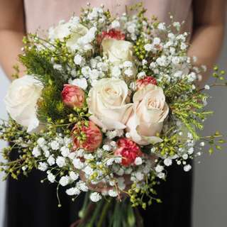 Fresh Flower Bouquet for ROM / Weddings