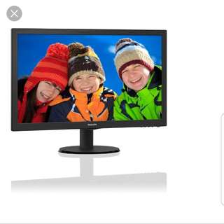 Philips LCD monitor 23.6 inch