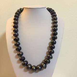 ⚡️SALE⚡️HUGE Tahitian 12mm Beads Pearl Necklace