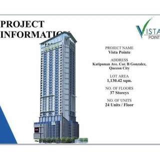 Affordable condo in katipunan for only 15,000 monthly Few units left !!
