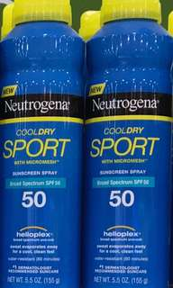 Neutrogena Cool Dry Sunscreen Spray SPF50