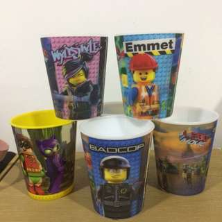 6pcs of Lego Cup