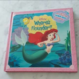 Disney Princess Where's Flounder?