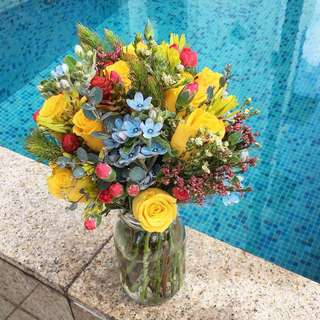 Fresh Flower Bouquets for ROM / Birthdays / Weddings