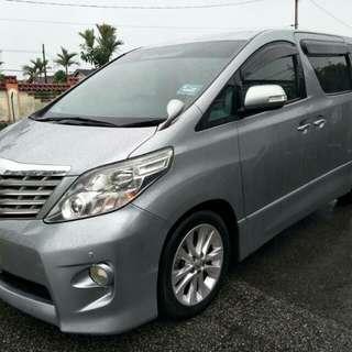 Toyota Alhpard 2.5