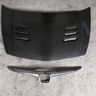 [AUTOMOTIVE] Honda Civic FD2 Carbon Bonnet with Grill