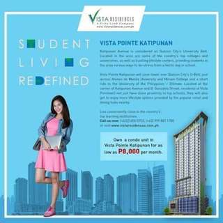 Accessible condo in katipunan for only 15,000 monthly Few units left !!