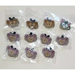 Duffy 達菲熊、Shelliemay 雪莉梅  : Disney Pin 迪士尼 茶杯造型 徽章 Pin