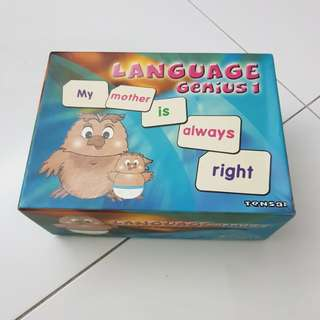 Language Genius 1 flashcard