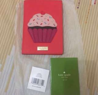 Kate Spade Cupcake Passport Holder